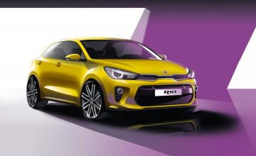 New Kia Rio for Paris Motor Show
