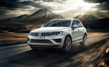 New top range Touareg from VW