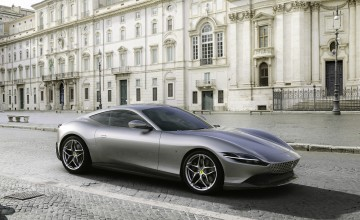 Ferrari launches classy Roma coupe