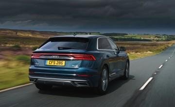 Audi Q8 bows in