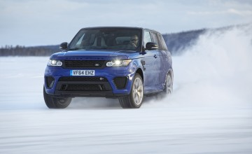 Range Rover Sport nice on ice