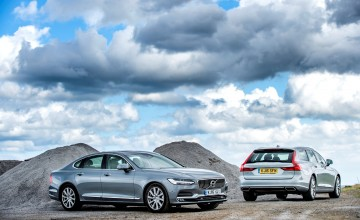 Volvo V90 and S90 - a premium pair