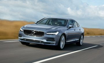 New Volvo S90 luxury saloon for Detroit debut
