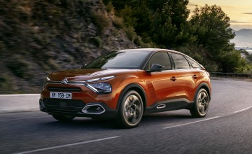 Citroen shocks with new C4 style
