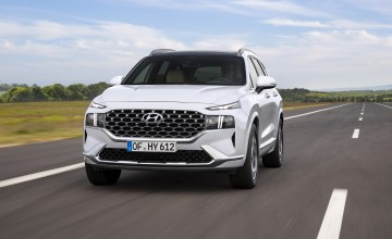 Hybrid power for new Hyundai Santa Fe