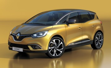 Top safety score for new Renault Scenic