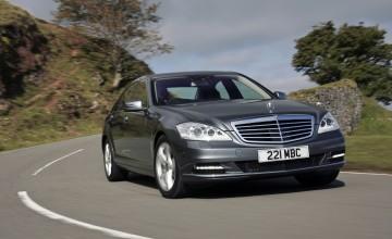 The top class Mercedes