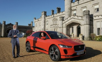 I-PACE charges into Scotland
