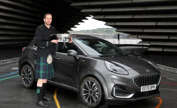 Ford Puma grabs Scottish honours