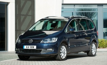 Volkswagen Sharan a family spaceship