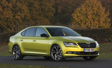 Skoda Superb 2.0 TSI 280ps 4x4 DSG Sportline