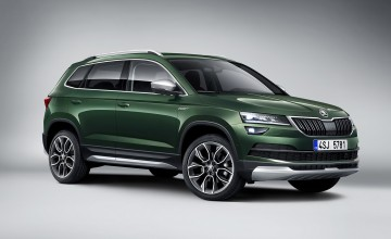 Scout's honour for Skoda Karoq