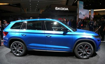 Kodiaq vRS revealed at last