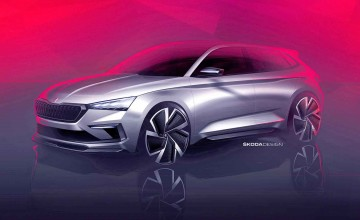 Skoda's raunchy Vision for the future