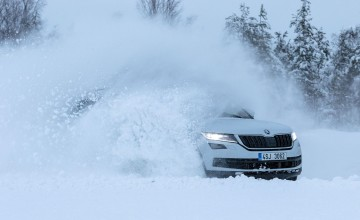 Skoda shows 4x4 mettle