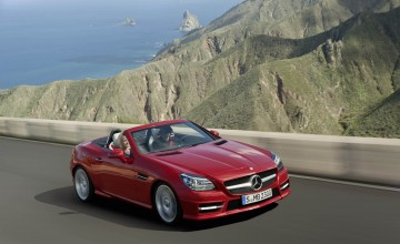 Latest and greatest Mercedes SLK