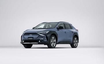 Solterra is Subaru's first EV