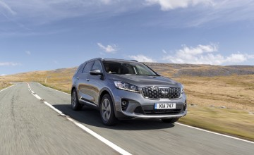 Sun, sea and the Kia Sorento