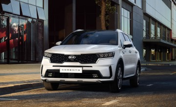 Kia shows off new Sorento