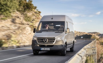 New Mercedes Sprinter for summer deliveries