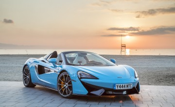 McLaren Spider raises the roof