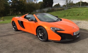 McLaren 650S Spider 2016 - Review