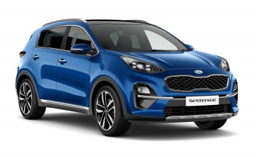 New look for Kia Sportage range