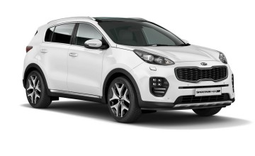 Kia upgrades Sportage for 2017