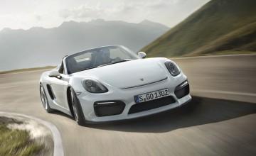 Porsche Boxster Spyder has New York debut