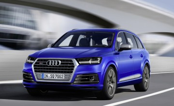 Audi SQ7 - world's most powerful diesel SUV