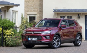 Limited choice for new Korando