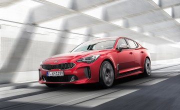Kia Stinger GT revealed