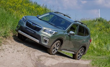Hybrid Forester hits the road