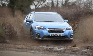 Latest Subaru hybrid hits the road