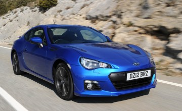 Subaru BRZ spins to a record