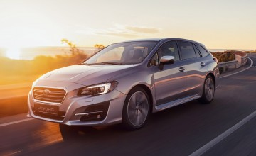 Fresh face for Subaru Levorg