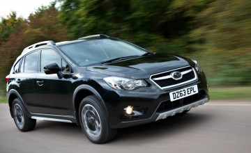 Black's back for Subaru XV