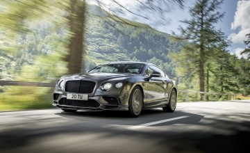 Bentley makes world's fastest four-seater