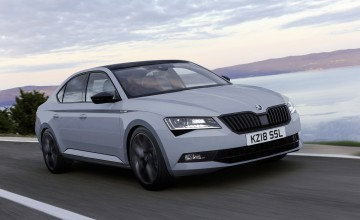 Skoda Superb upgraded