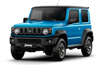 Chunky new Suzuki Jimny on the way