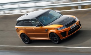 Range Rover Sport SVR a mighty flagship