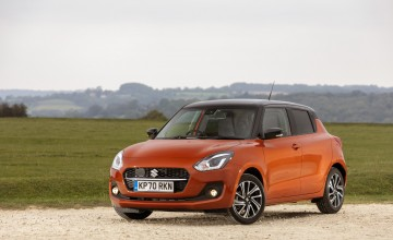 Fresh face, more kit for Suzuki Swift
