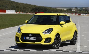 Suzuki gets sporty with new Swift