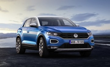 Volkswagen T-Roc present for Christmas