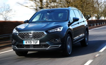 SEAT goes big with Tarraco SUV