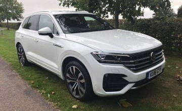 New Touareg makes an impact