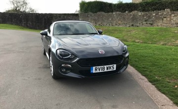 Fiat 124 Spider 1.4 MultiAir Turbo Lusso Plus