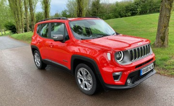 New look for Jeep Renegade