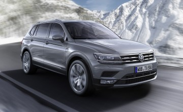 VW Tiguan joins space race