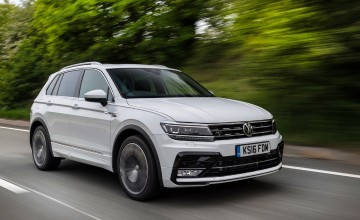 New Tiguan steps on the style